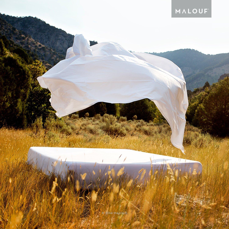 MALOUF Artisan Italian Cotton Percale Sheets